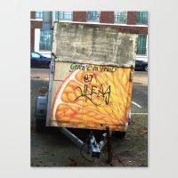 Veggies And Fruits... An… Canvas Print