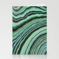 Mineralicious~Mint Tourm… Stationery Cards