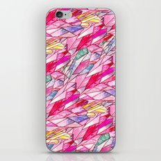 Crystal pattern iPhone & iPod Skin