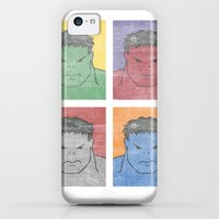 iPhone Cases featuring Pop Hulk by Li.Ro.Vi