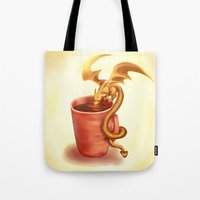 A Drink For A Dragon Tote Bag
