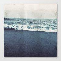 retro ocean Canvas Print