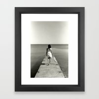 That Perfect Place Framed Art Print