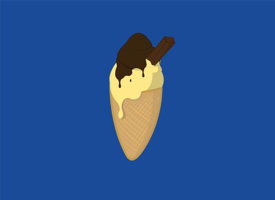 Ice-Cream Art Print