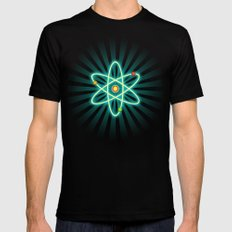 Atom SMALL Mens Fitted Tee Black
