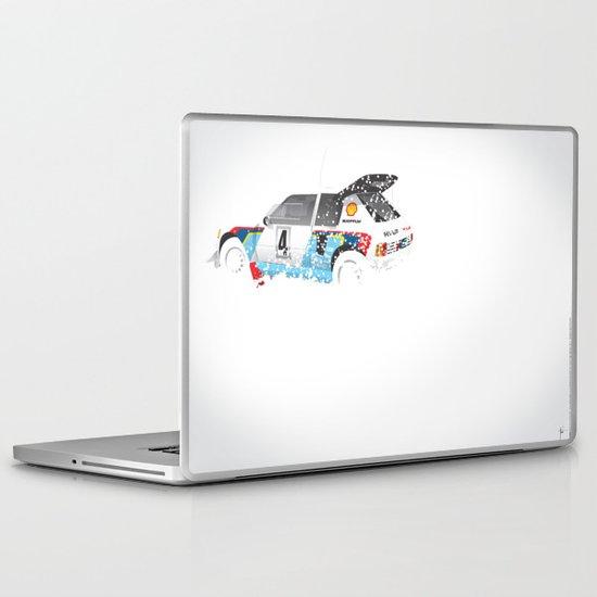 Juha Kankkunen-Juha Piironen, Peugeot 205 T16 E2, 1986 Swedish Rally Laptop & iPad Skin