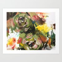 flower arrangement 6 Art Print