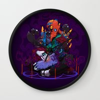 Chrysalis Wall Clock