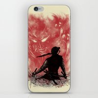 Ronin Versus Oni iPhone & iPod Skin
