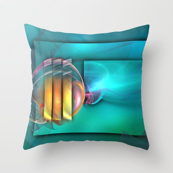 Fantastic World Throw Pillow