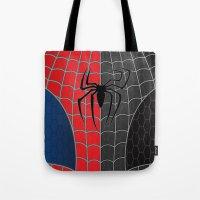 Spider-Man Red/Black Tote Bag