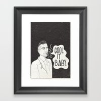Cool It. Framed Art Print