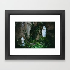 Say a Prayer Framed Art Print