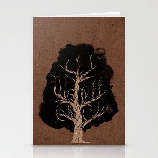 Let The Tree Grow Stationery Card