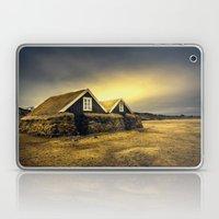 Old Huts Laptop & iPad Skin