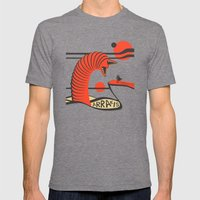 Arrakis Mens Fitted Tee Tri-Grey SMALL