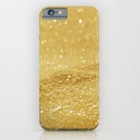 Glitter Gold iPhone 6 Slim Case