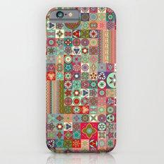 Boho Quilt Pattern 1 Slim Case iPhone 6s
