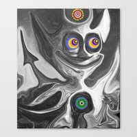The Anomoly Canvas Print