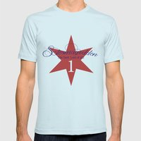 Stormageddon  Mens Fitted Tee Light Blue SMALL