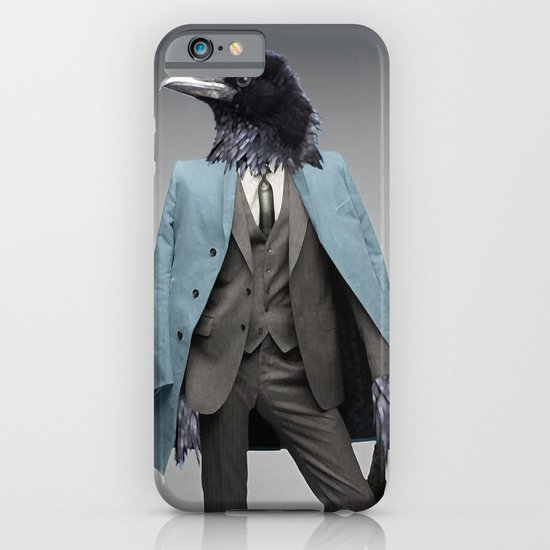 dapper crow iPhone & iPod Case