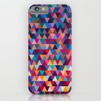 iPhone & iPod Case featuring Triangles by Ornaart