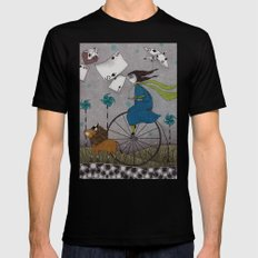 I Follow the Wind SMALL Mens Fitted Tee Black