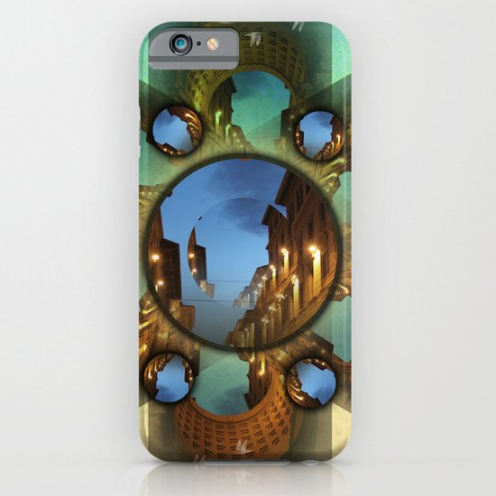Emerald orbit iPhone & iPod Case