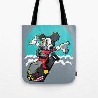 Dr. Strangemouse Tote Bag