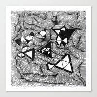 Lines #2 Canvas Print