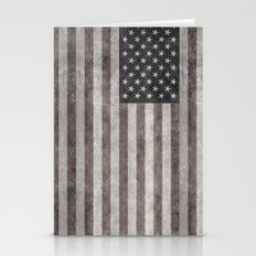 USA Flag Desaturated Stationery Cards
