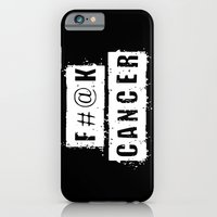 F@#K Cancer (inverse) iPhone 6 Slim Case