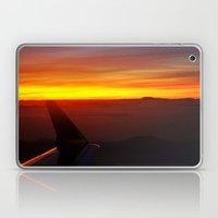 Sunset at 30,000 Feet Laptop & iPad Skin