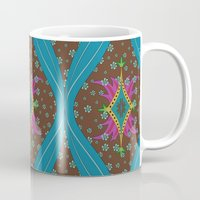 teardrop pattern Mug