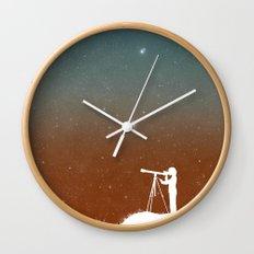 Through the Telescope Wall Clock