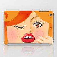 Lola Red iPad Case