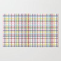 Rainbow Weave Rug