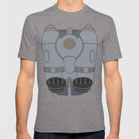 The Rocketeer - Jet Pack Mens Fitted Tee Tri-Grey SMALL