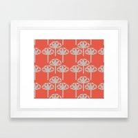 Abstract Gerbra Framed Art Print