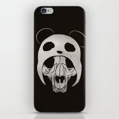 Panda Skull iPhone & iPod Skin