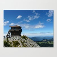 Mountain Lookout Canvas Print