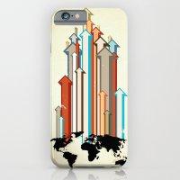 "iPhone & iPod Case featuring Glue Network Print Series ""Economic Development"" by Blaine Fontana"