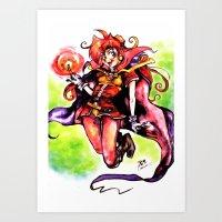 Lina Inverse Art Print