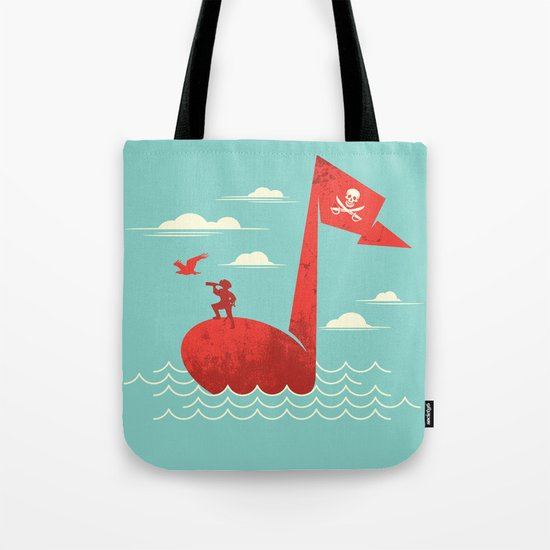the pirate's song Tote Bag
