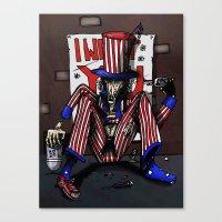 Uncle Sammy Canvas Print