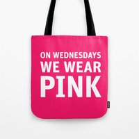 Mean Girls #11 – Pink Wednesday Tote Bag