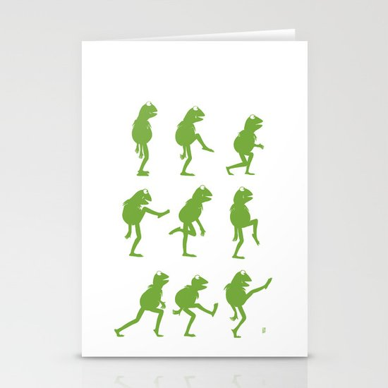 Ministry of Silly Muppet Walks Stationery Card