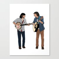 The Avett Brothers Canvas Print