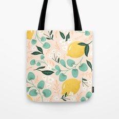 Lemon Party Tote Bag