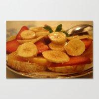 Fruits du Maroc Canvas Print